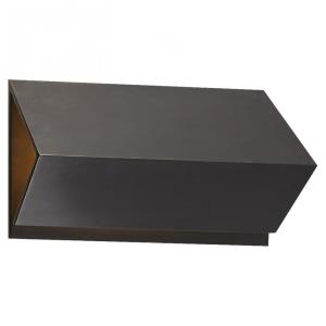 Esker - 10 inch 1 LED Small Triangle Wall Sconce
