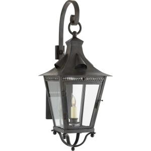 Orleans - 1 Light Outdoor Small Bracketed Wall Lantern