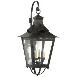 Orleans - 4 Light Outdoor Large Bracketed Wall Lantern