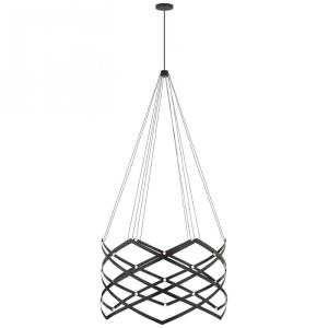 Interlace - 45 inch 1 LED Expandable Chandelier