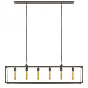 Belden - 6 Light Linear Pendant