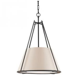 Aspen - One Light Large Shade Conical Pendant