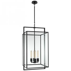 Halle - 4 Light Medium Hanging Lantern