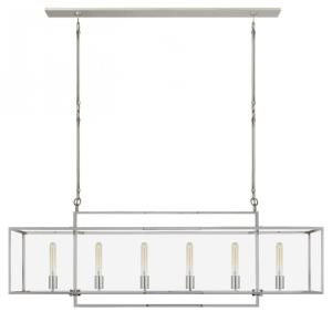 Halle - 6 Light Large Linear Pendant