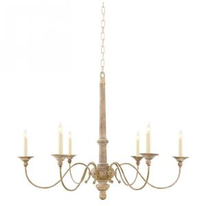 Country - 6 Light Small Chandelier