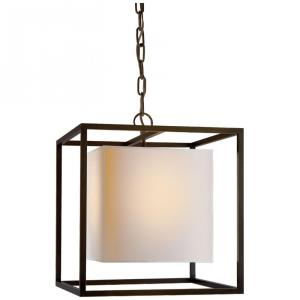 Caged - 1 Light Small Pendant