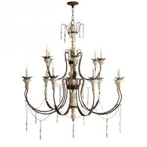 Percival - Fifteen Light Large Chandelier