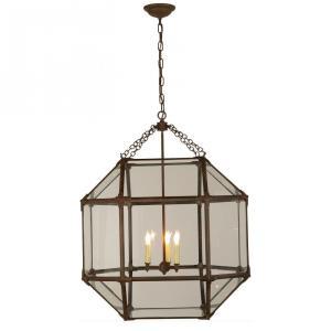 Morris - 3 Light Outdoor Large Hanging Lantern