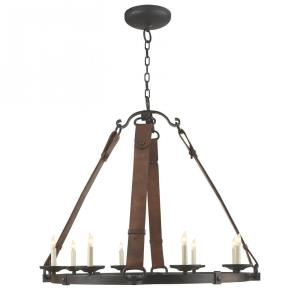 Dressage - 8 Light Round Chandelier