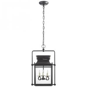 Honore - Three Light Medium Square Frame Hanging Lantern