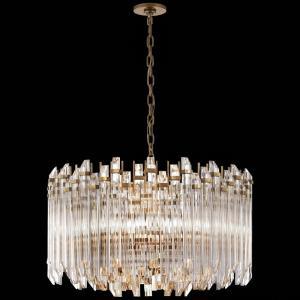 Adele - Four Light Large Wide Drum Chandelier