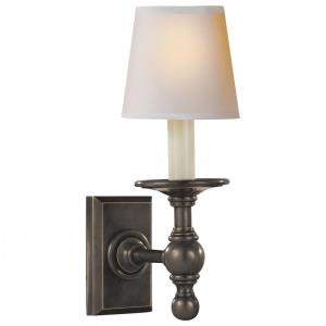 Classic - 1 Light Library Wall Sconce