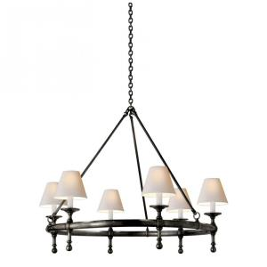 Classic - 6 Light Ring Chandelier