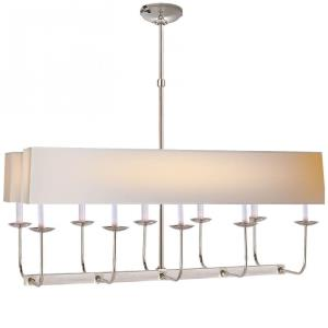 Linear Branched - 10 Light Chandelier