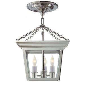 Cornice - 3 Light Convertible Semi-Flush Mount