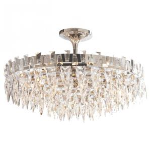 Trillion - Ten Light Large Semi-Flush Mount