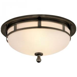 Openwork - 2 Light Small Flush Mount