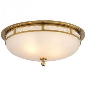 Openwork - 2 Light Large Flush Mount
