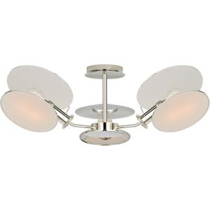Osiris - 3 Light Medium Reflector Semi-Flush Mount