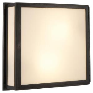 Mercer - 2 Light Square Box Wall Sconce