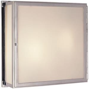 Mercer - 2 Light Square Box Wall Sconce