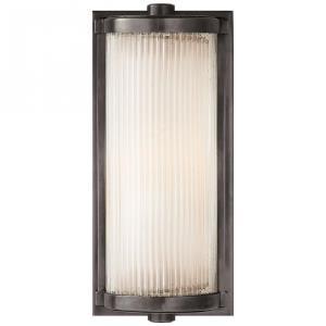Dresser - 1 Light Short Glass Rod Wall Sconce