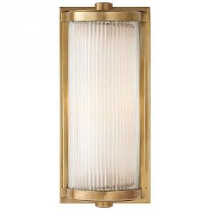Dresser - One Light Short Glass Rod Wall Sconce