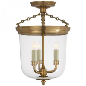 Merchant - 3 Light Convertible Semi-Flush Mount