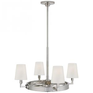 Watson - Four Light Small Ring Chandelier