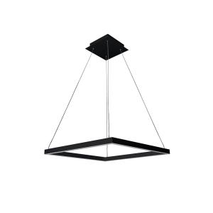 "Atria - 19.69"" 38W 1 LED Square Chandelier"