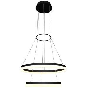 Tania Duo - 23.5 Inch 65W 1 LED 2-Tier Circular Chandelier