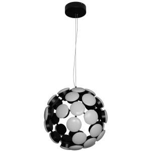 "Kastra - 15.55"" 48W 1 LED Globe Chandelier"