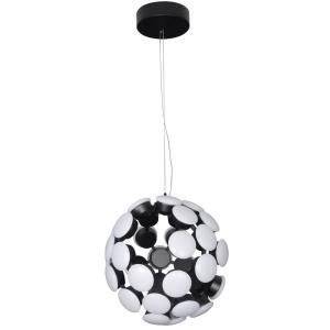 "Kastra - 19.29"" 67W 1 LED Globe Chandelier"