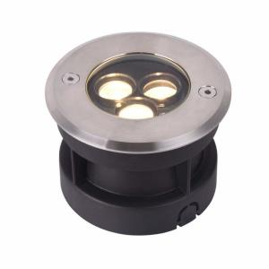 Modern - 4 inch 3W LED Outdoor In-Ground Light