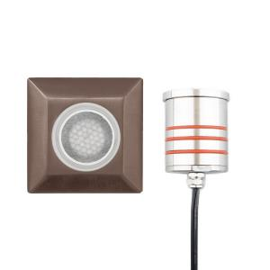 2.75 Inch 12V 4W 1 LED Sqaure Indicator Light with Honeycomb Louver