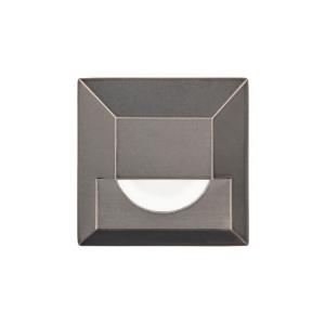 3.25 Inch 12V 4W 1 LED Square Step/Wall Light