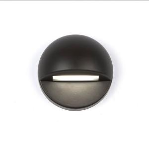 12V 2.8W 2700K 1 LED Round Deck/Patio Light-3 Inches Wide by 3 Inches High