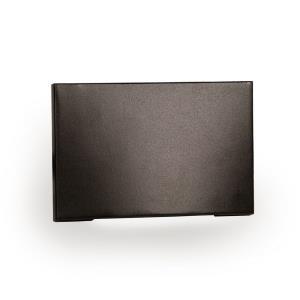 5 Inch 12V 2W Amber 1 LED Horizontal Scoop Step/Wall Light