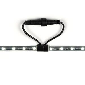 12V 3000K 2W 1 LED Outdoor Tape Light-0.5 Inches Wide by 0.75 Inches High