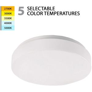 Blo-22W 1 LED Flush Mount in Functional Style-13 Inches Wide by 2.63 Inches High