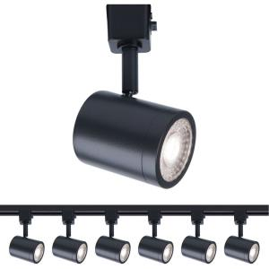 Charge - 5.88 Inch 11W 1 LED Line Voltage Track Head (Pack of 6)