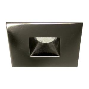 LEDme - 2 Inch 4W 2700K 1 LED Recessed Light with Open Raffle Square Trim and Remote Driver