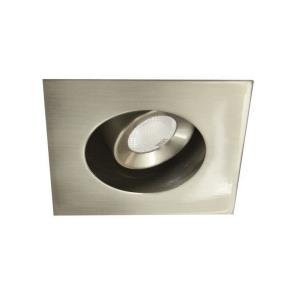 LEDme-4W 2700K 1 LED Recessed Light with Adjustable Square Trim and Remote Driver-2.75 Inches Wide by 3 Inches High