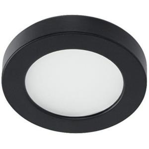 "Edge - 3.5"" 5W 1 LED 3000K 90 CRI Button Light"