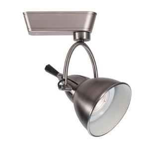 Cartier-10W 2700K 1 LED Flood H Track Head-4.38 Inches Wide by 9.06 Inches High