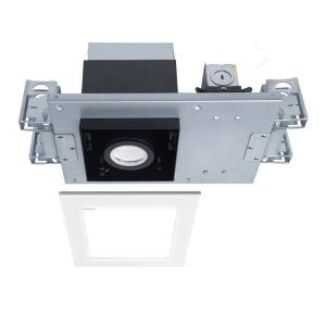"""Silo Multiples - 13.81"""" 10W 4000K 1 LED New Construction IC-Rated Airtight Housing with Light Engine"""