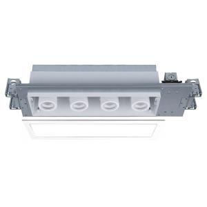 "Silo Multiples - 27.88"" 56W 3500K 4 LED New Construction IC-Rated Airtight Housing with Light Engine"