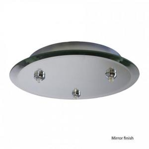 "Accessory - 11.75"" Round Canopy with Integral Transformer"