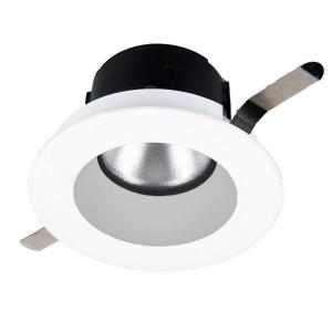 Aether - 2 Inch 15W 3500K 85CRI 50 degree 1 LED Round Trim with LED Light Engine