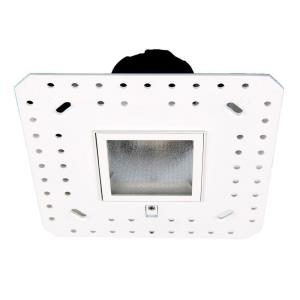 Aether - 2 Inch 15W 3500K 85CRI 50 degree 1 LED Square Wall Wash Invisible Trim with LED Light Engine